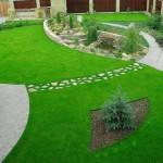 Посадка и оформление газона